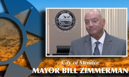 Mayor Bill Zimmerman, City of Menifee