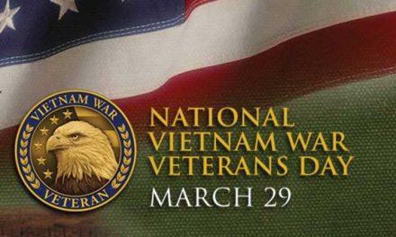 Vietnam Veterans Day – March 29
