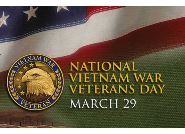 Vietnam Veterans Day – March 29